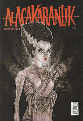 Alacakaranlık 5. Sayı (Ağustos) - The Bride of Frankenstein