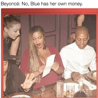 Beyonce Ordering Food Menu Meme
