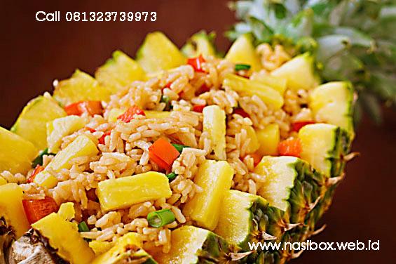 Resep nasi goreng nanas nasi box cimanggu ciwidey