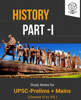 Indian History NCERT Class Vi-VIII For UPSC/PSC Prelim+Mains P1