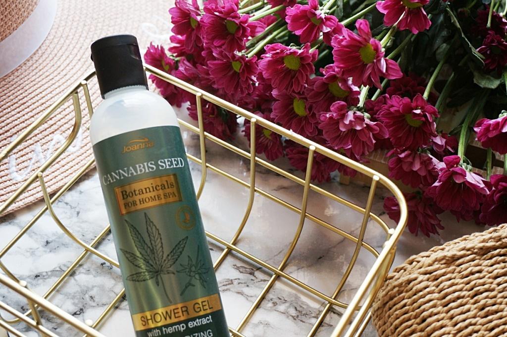 Joanna Cannabis seed żel pod prysznic home spa