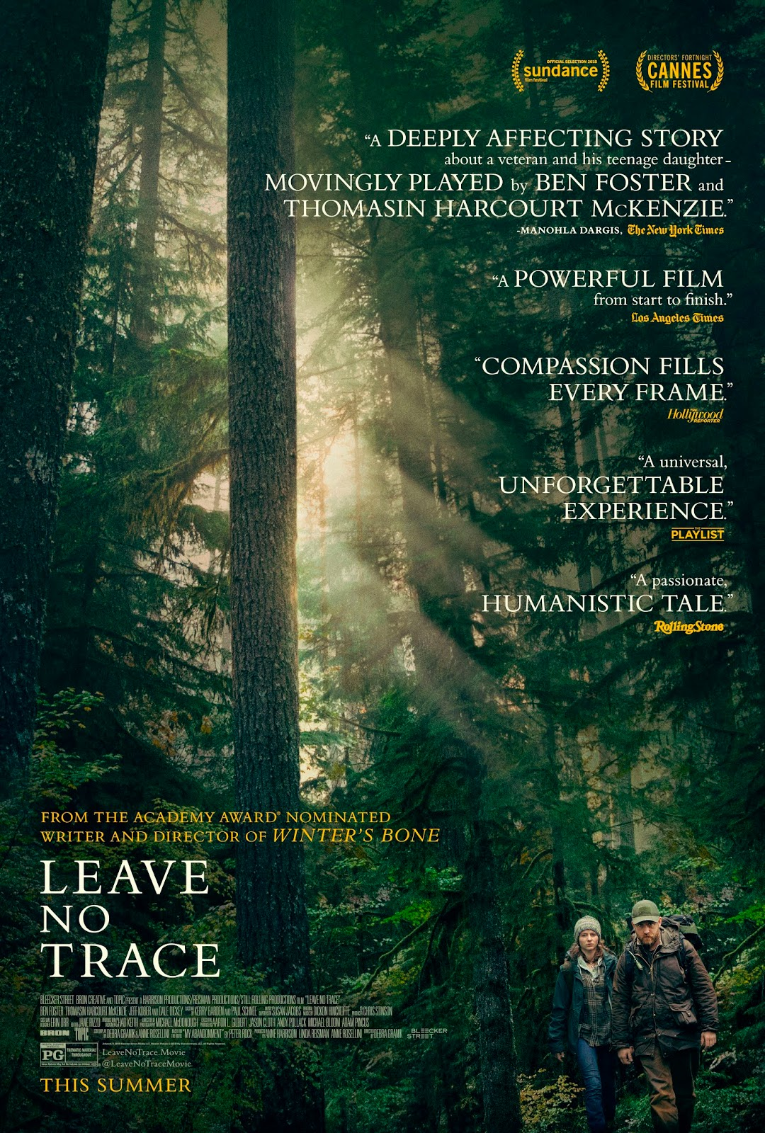 Leave No Trace Movie Review Sandwichjohnfilms