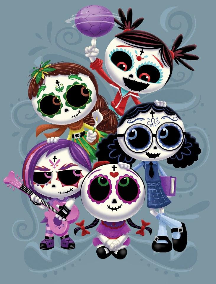 Rosita e le sue amiche: Lupita, Rubi, Gabi, Bibi