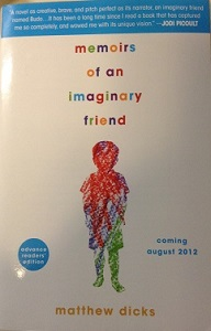 Memoirs of an Imaginary Friend / ARC Giveaway