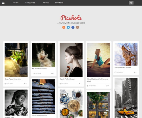 Blogger Template Pography | Best Photography Blogger Templates 2018 Blogger Templates 2018