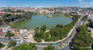 Le lac aux environs Antananarivo