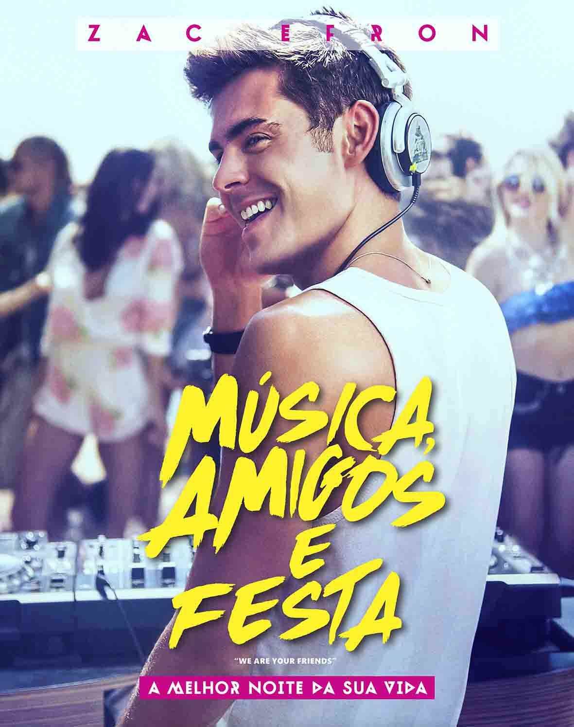 Música, Amigos e Festa Torrent - WEB-DL 720p Dublado (2015)