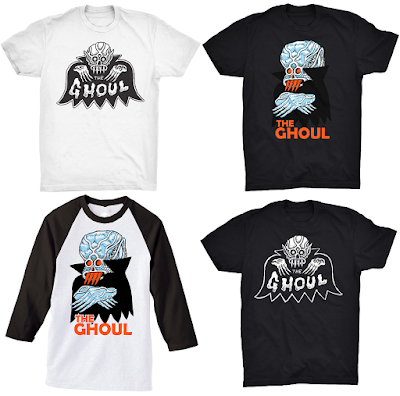 Craig Gleason's The Ghoul T-Shirt Collection by Justin Ishmael
