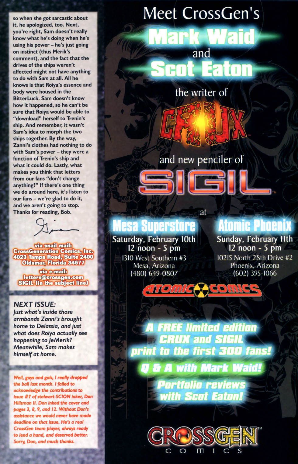 Read online Sigil (2000) comic -  Issue #8 - 24