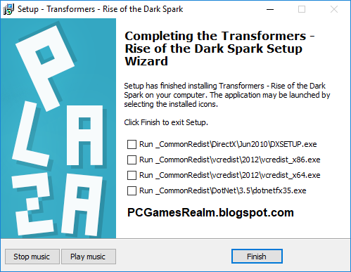 transformers rise of the dark spark pc download ita