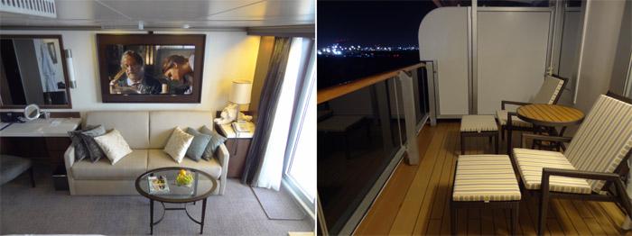Каюты категории свит (suite) на круизном лайнере