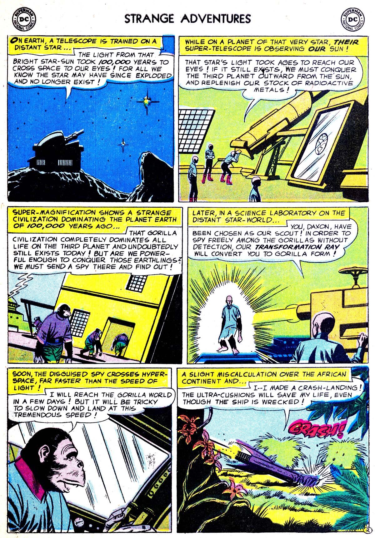 Strange Adventures (1950) issue 75 - Page 4