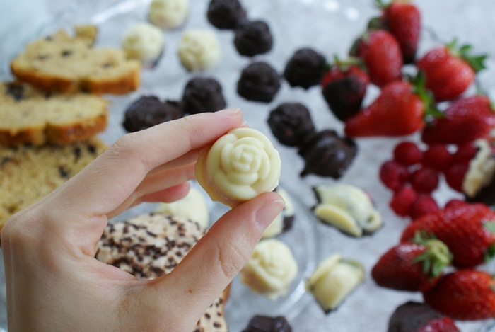 white chocolate pralines recipe