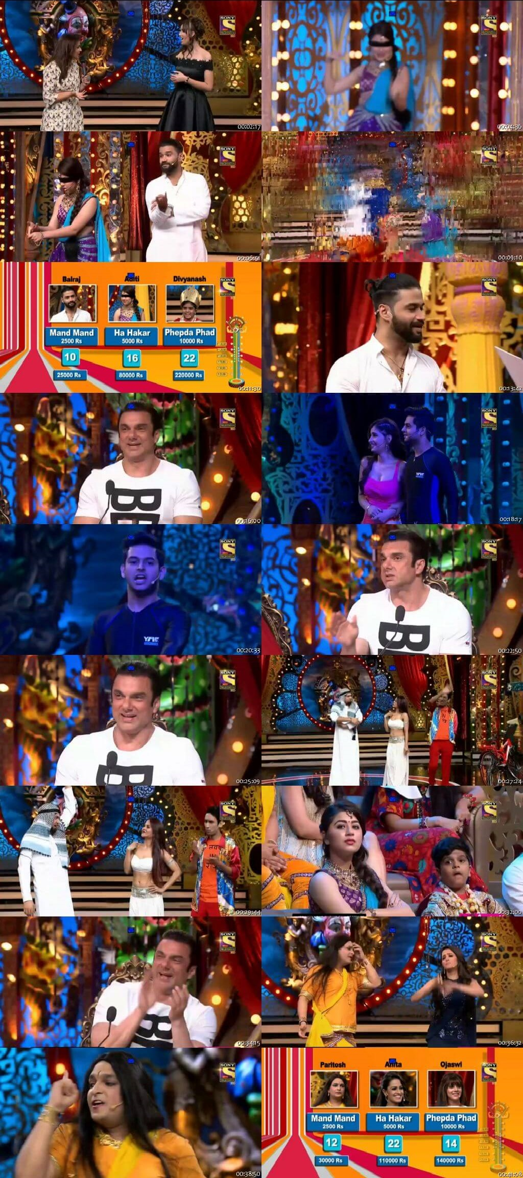Screen Shot Of Comedy Circus 23rd September 2018 Episode 04 300MB Watch Online