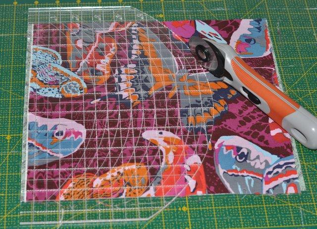 patchwork szablon do łuków