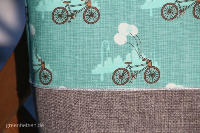 Einkaufstasche mit Fiets | Bluebird Park von Katie & Birdie
