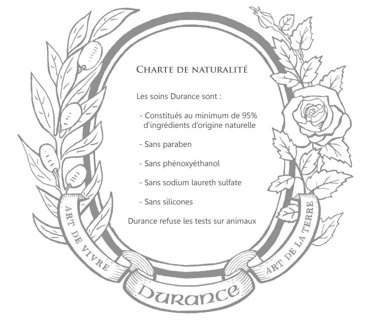 DURANCE : Charte de naturalité