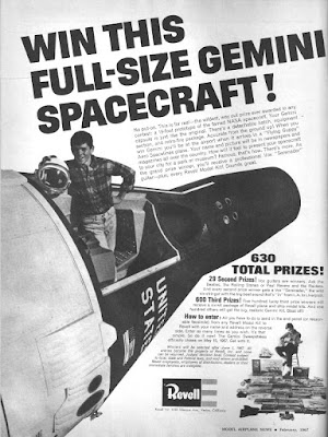 Win this Full-Size Gemini Spacecraft!
