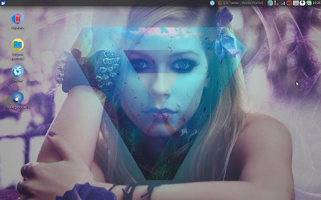 Fondo de pantalla hecho por AccionglobalXSoft para Xubuntu