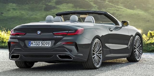 BMW 8シリーズ・カブリオレ リアデザイン