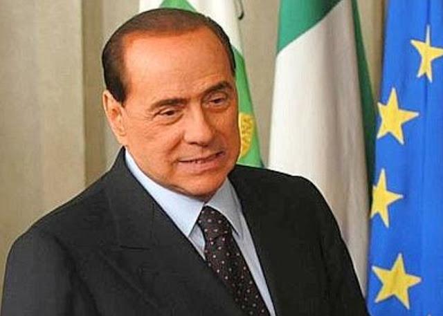 """رئيس الوزراء الإيطالي السابق برلسكوني:""""سالفيني على الطريق الصحيح للعودة معنا""""."""
