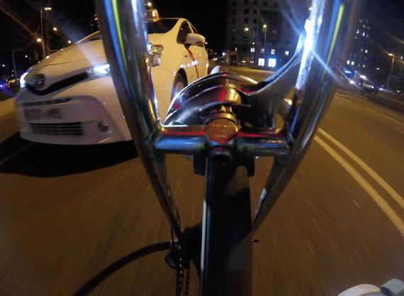 Estimación de la distancia a un coche con vídeo, montaje
