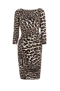 Animal Print Dress, Coast