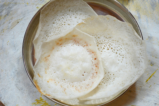 Aappam | Appam without Coconut,Yeast or Cooked Rice | Video Recipe
