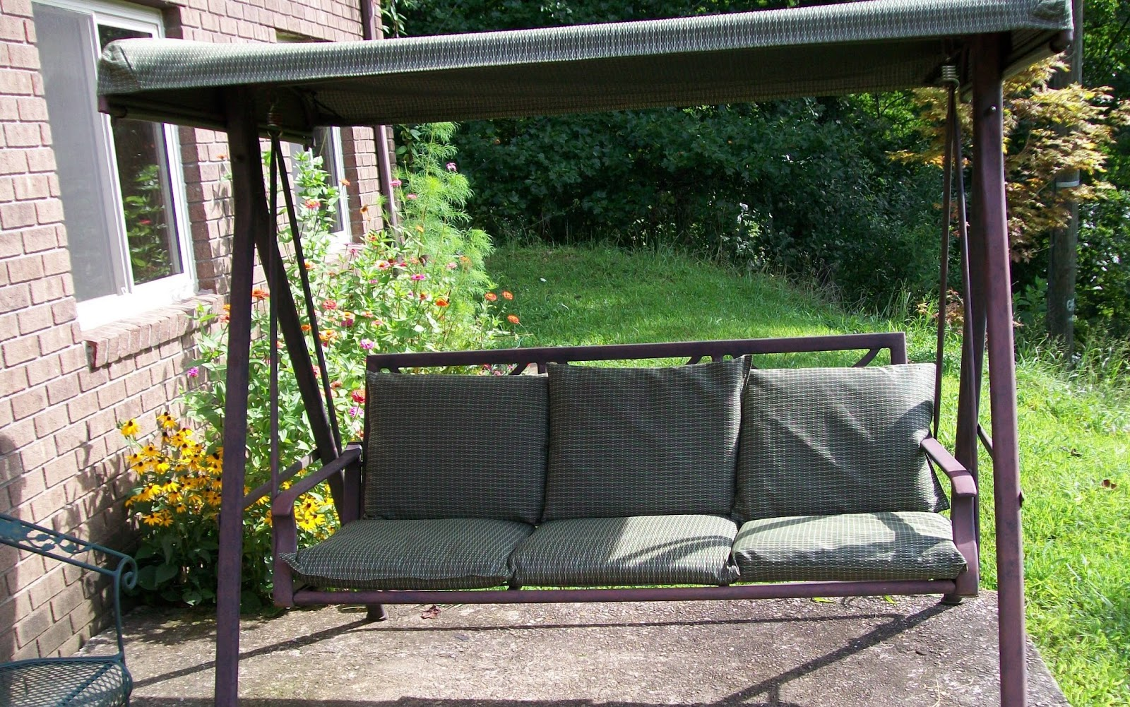 Sew Much More: Patio Swing Cushions