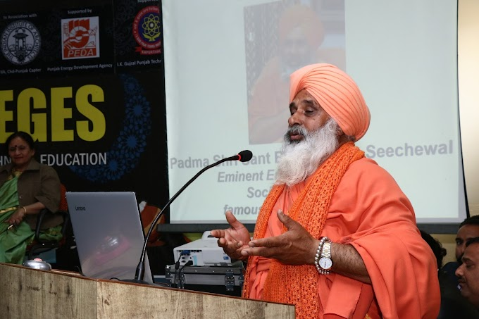 Sant Balbir Singh Seechewal called upon the professionals and students to come ...