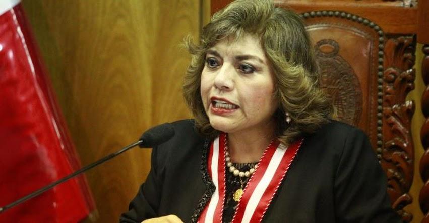 ZORAIDA ÁVALOS: Nueva Fiscal de la Nación dispone declarar en emergencia el Ministerio Público