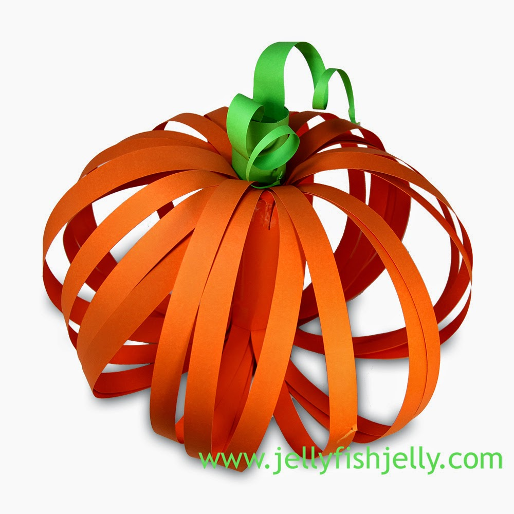 3D Paper Pumpkin | Munchkins and Mayhem