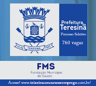 Apostila FMS processo seletivo Prefeitura de Teresina 2017