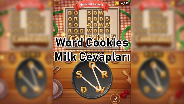 Word Cookies Milk Cevaplari
