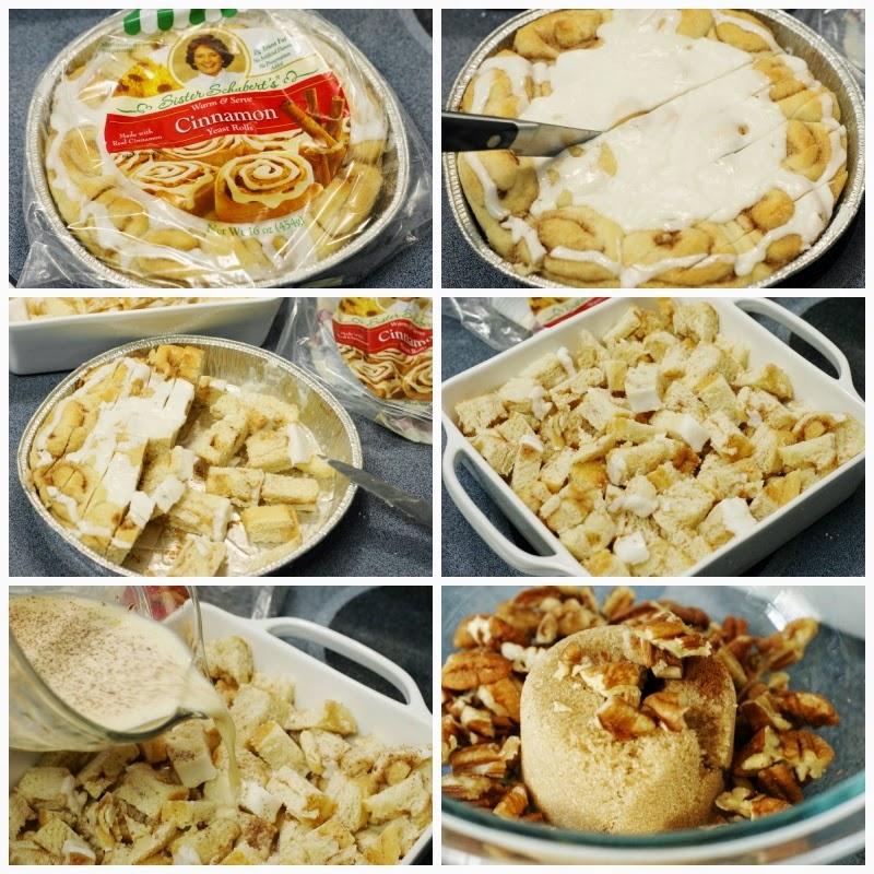 How to Make Overnight Cinnamon Roll Casserole image