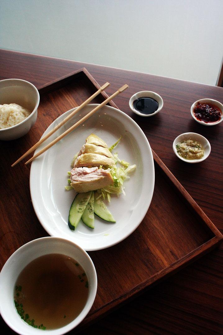 Grand Hyatt Hotel's The Grand Kitchen BGC Hainanese Chicken