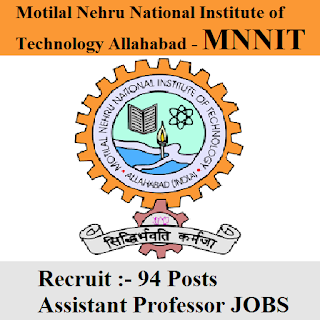 Motilal Nehru National Institute of Technology Allahabad, MNNIT, UP, Uttar Pradesh, Assistant Professor, Professor, Graduation, freejobalert, Sarkari Naukri, Latest Jobs, mnnit logo