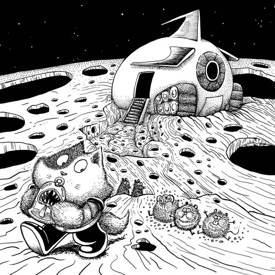 05-Over-eating-Rex-Lee-Little-Creatures-www-designstack-co