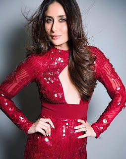 Kareena Kapoor Khan in Lovely Red Shining Gown Latest Pics