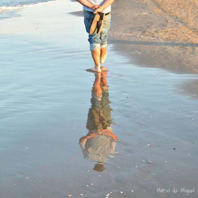 Playa de la Patacona - reflejos
