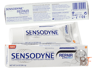 Very Cheap And Efficient: Sensodyne Repair & Protect Whitening Toothpaste 75ml