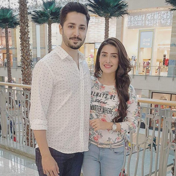Vacation Trip Photos of Ayeza Khan and Danish Taimoor with Their Baby