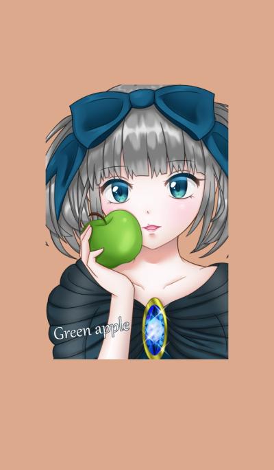 Green apple princess
