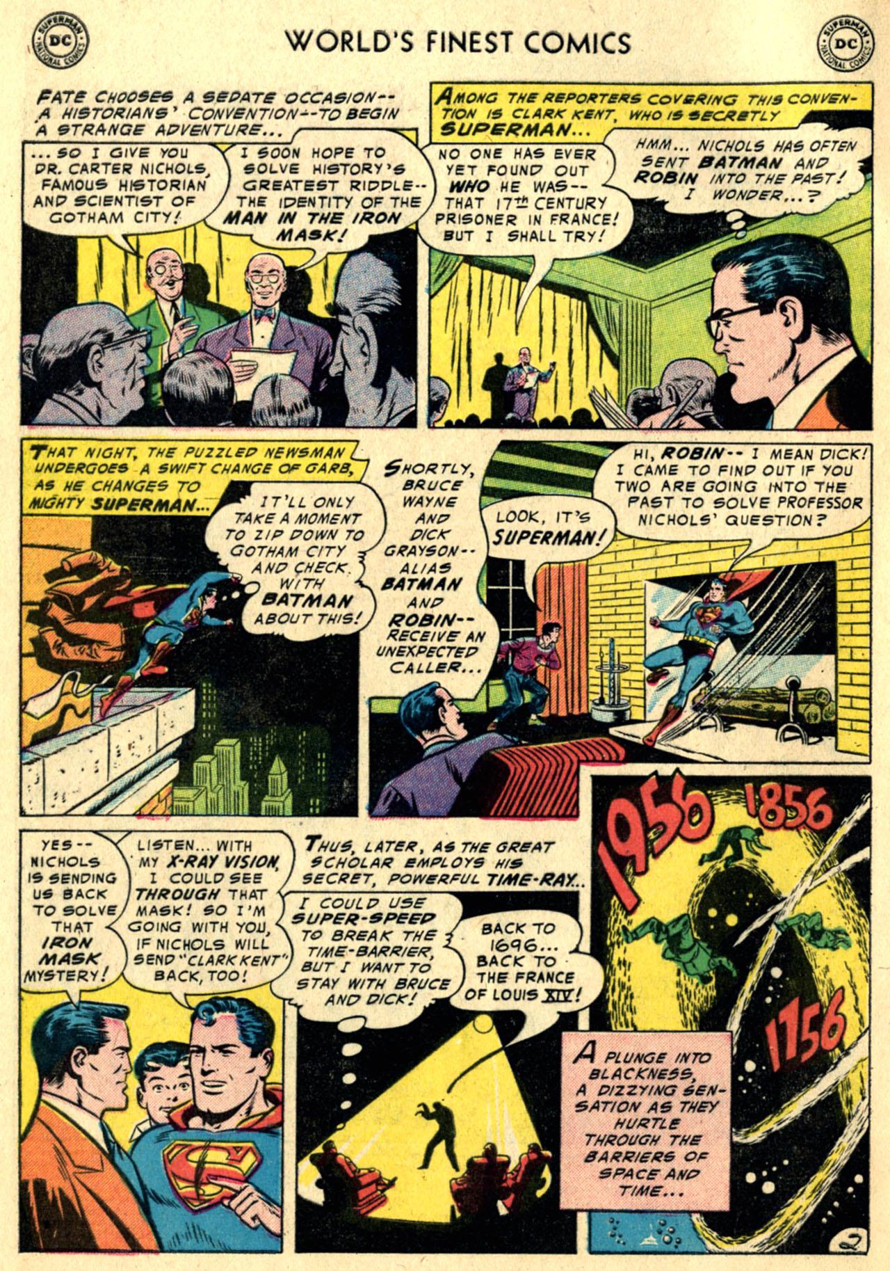 Read online World's Finest Comics comic -  Issue #82 - 4