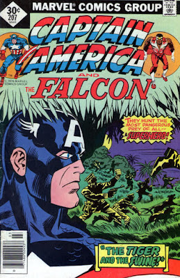 Captain America and the Falcon #207