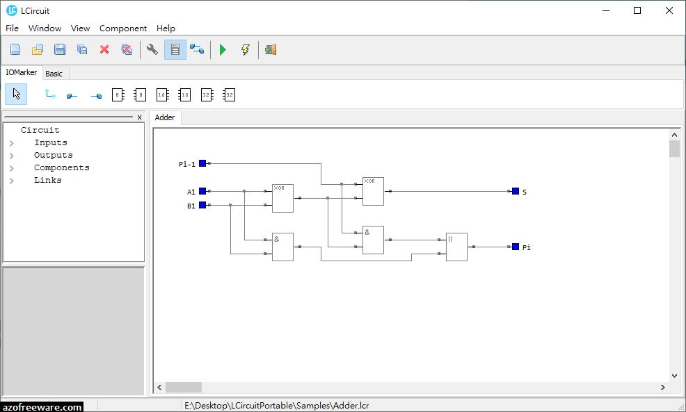 LCircuit 1.3.3 免安裝版 - 免費電路模擬軟體 - 阿榮福利味 - 免費軟體下載