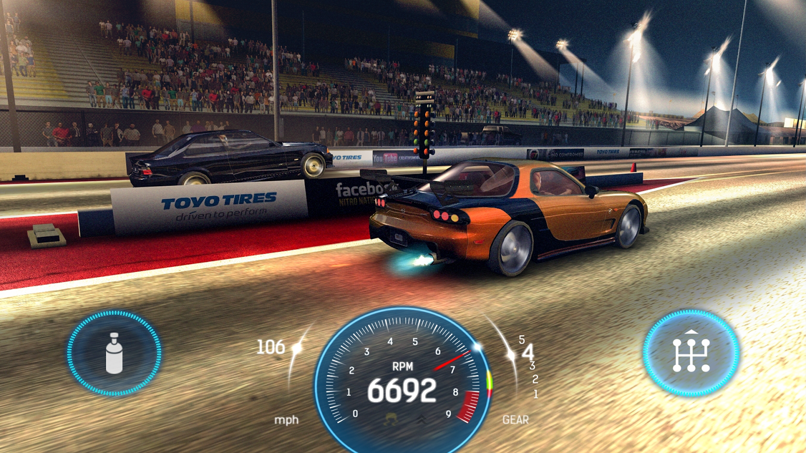 Nitro Nation Drag Racing MOD APK Terbaru
