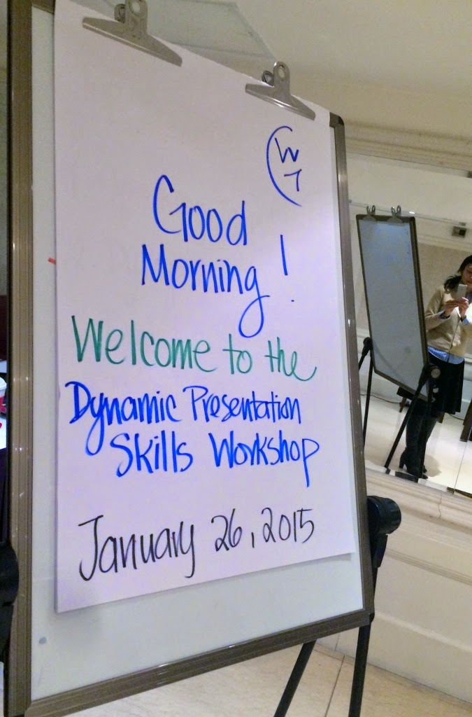January 26 Dynamic Presentation Skills Workshop