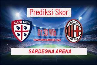 Prediksi Skor Cagliari vs AC Milan 17 September 2018