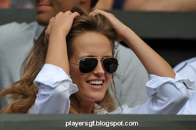 Andy Murray's girlfriend Kim Sears